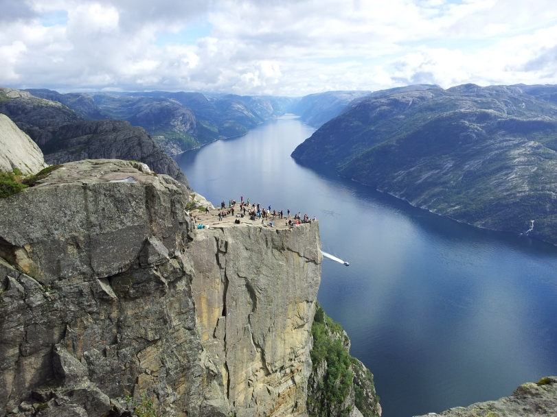 Preikestolen and the Lysefjord