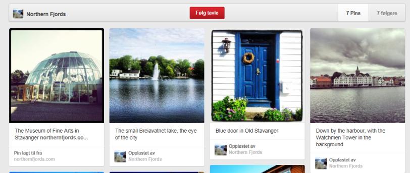 Pinterest Stavanger